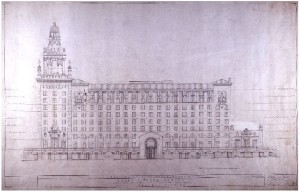 Roney Plaza Hotel Architectural Plan