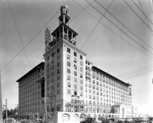Roney Plaza Tower Construction 1926