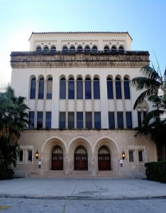 Miami Senior High School Fascade