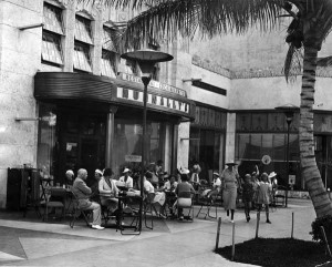 Nunnally's restaurant, 1937