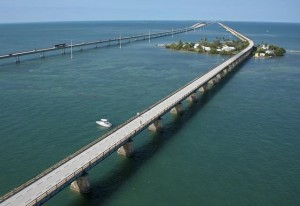 Old and New Seven Mile Bridge - Key West