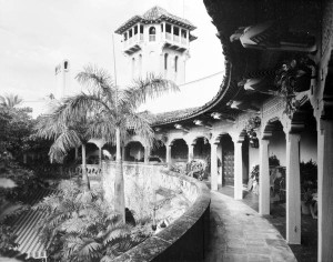 Mar-a-Lago Courtyard