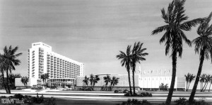 The Sans Souci Hotel. Photo courtesy of the State Archives of Florida.